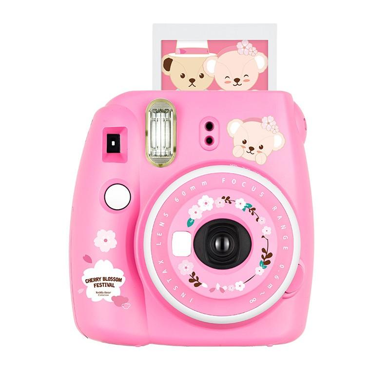 富士mini9拍立得自拍迷你照相机