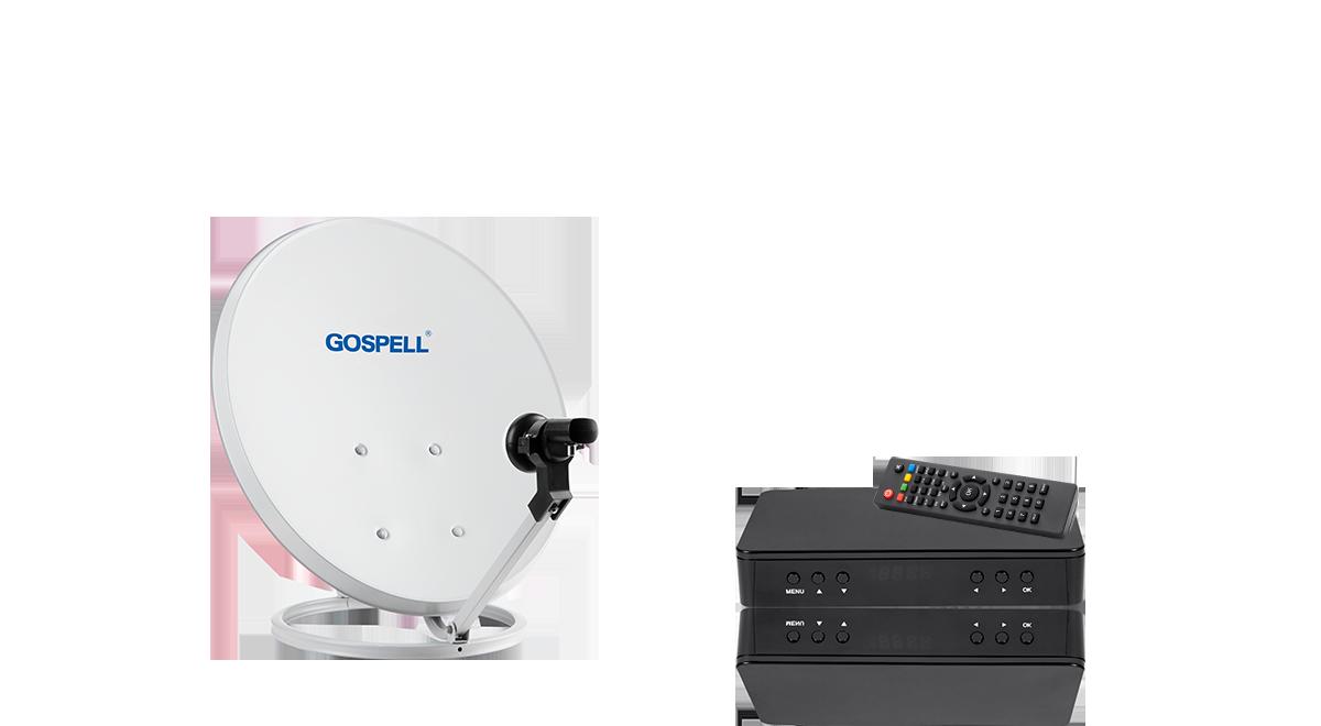 C-band / Ku-band satellite tuner, 4K ultra-high-definition satellite TV receiver / ground wave TV receiver