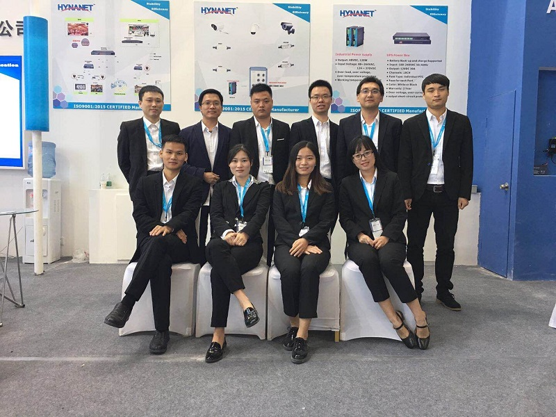 Hi-Net Lead the POE Market Trend During China Security Beijing Show 2018