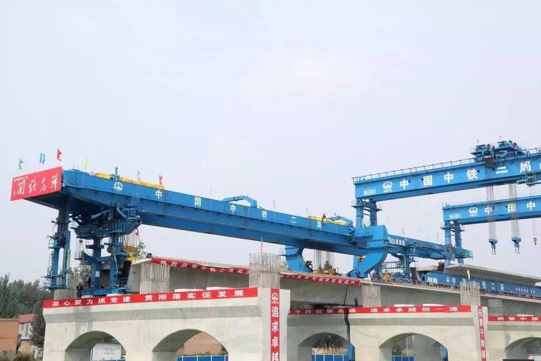 世界首台40米跨1000吨架运设备