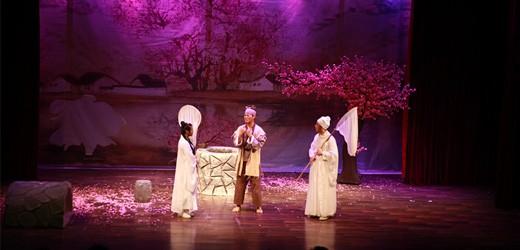 我系15级毕业实习剧目《暗恋桃花源》在实验剧场上演