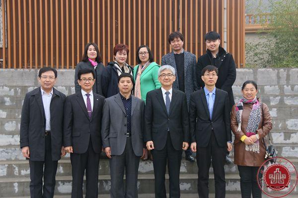韩国明知大学来我院考察交流并与我院签署合作协议