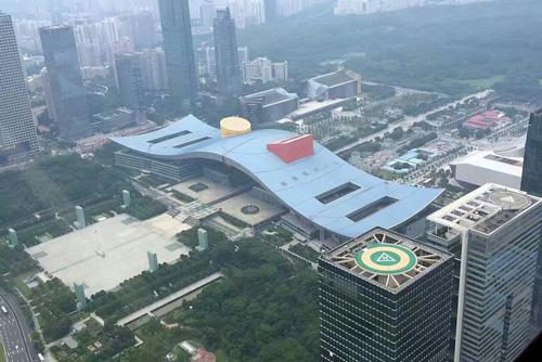 广东深圳某大厦停机坪