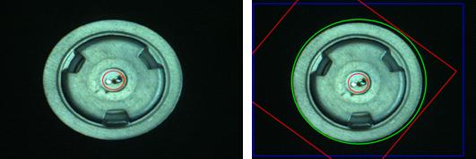 锂电池极耳尺寸视觉检测