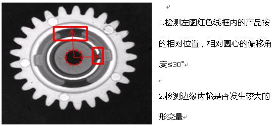 汽车零部件外观视觉检测