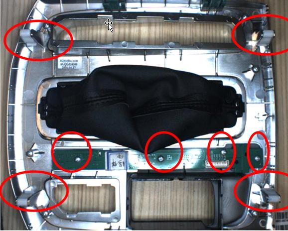 汽车配件螺丝有无视觉检测