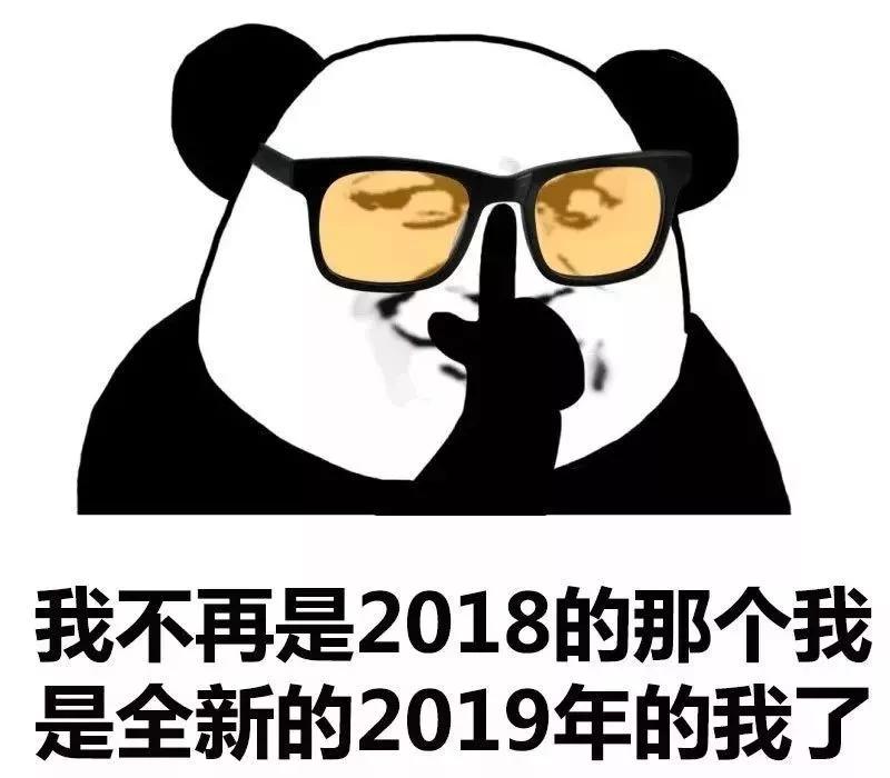 扯淡的2018就让它过去吧,今晚,我要疯狂浪到2019~