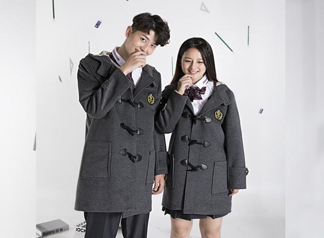 中学生冬季大衣