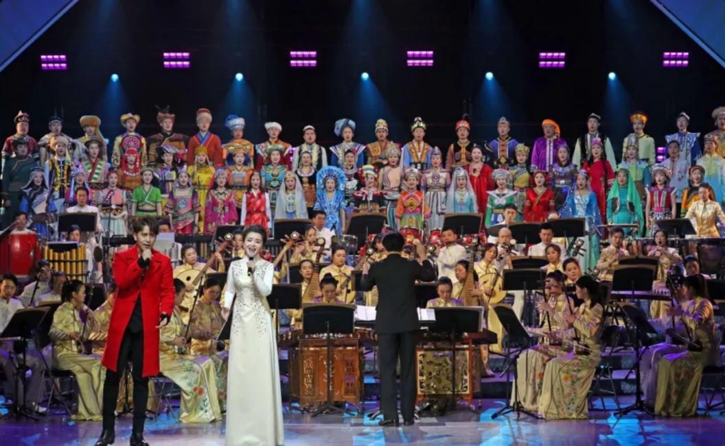 音乐系部分学生赴中央民族歌舞团参加新年音乐会