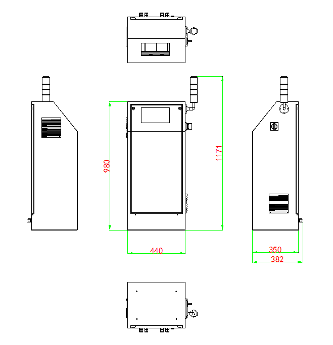 Online charging station
