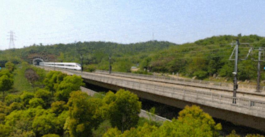 中国速度!最美高铁已开通,1.5小时赏遍最美江南