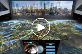 城市规划大型数字沙盘