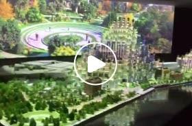 上海天安招商中心3Dmapping数字沙盘