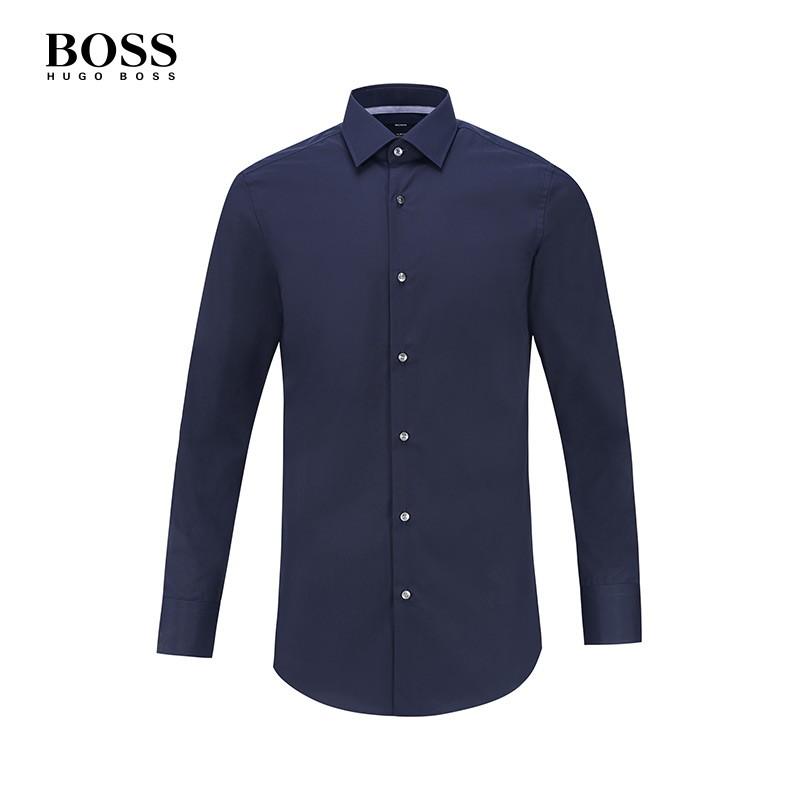 Hugo Boss【BOSS】男士商务休闲衬衫