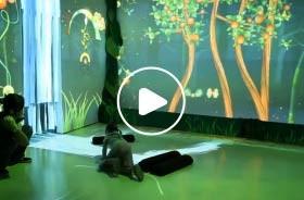 儿童乐园沉浸式互动投影