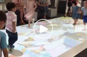 苏州新区永旺梦乐城地面互动游戏