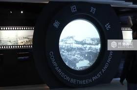 杭州湾上虞规划馆墙面体感互动投影