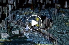 建筑 投影沙盘投影
