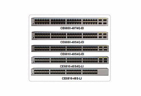 CloudEngine 6800系列数据中心交换机
