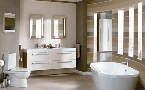 Bathroom industry keywords: smart, minimalist, multi-material, humane