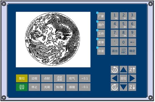 RDC6563F脱机光纤切割控制系统