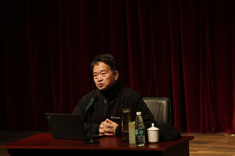 中央戏剧学院教授博士生导师刘立滨做客名人讲堂