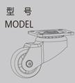 KT-AP 水平调节脚轮系列
