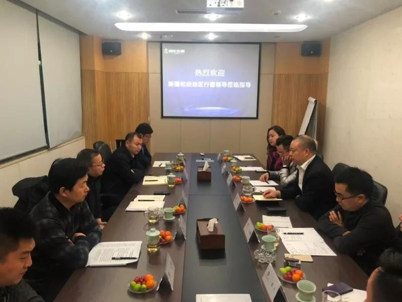 新疆和田地区行署领导到访浙江省四川英国威廉希尔公司网址