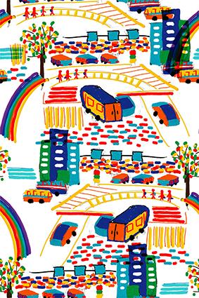 儿童卡通轨道汽车