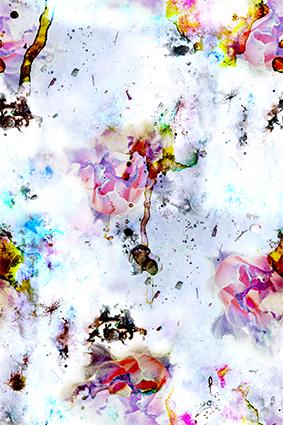 韵染水彩流行花朵
