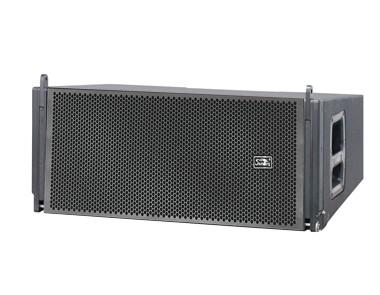 二路三分頻二驅動無源線性陣列音箱G310