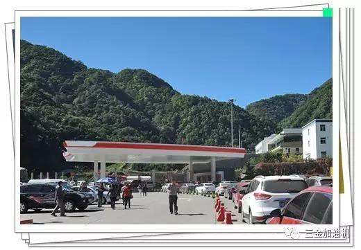 加油站堵车了,怎么办?