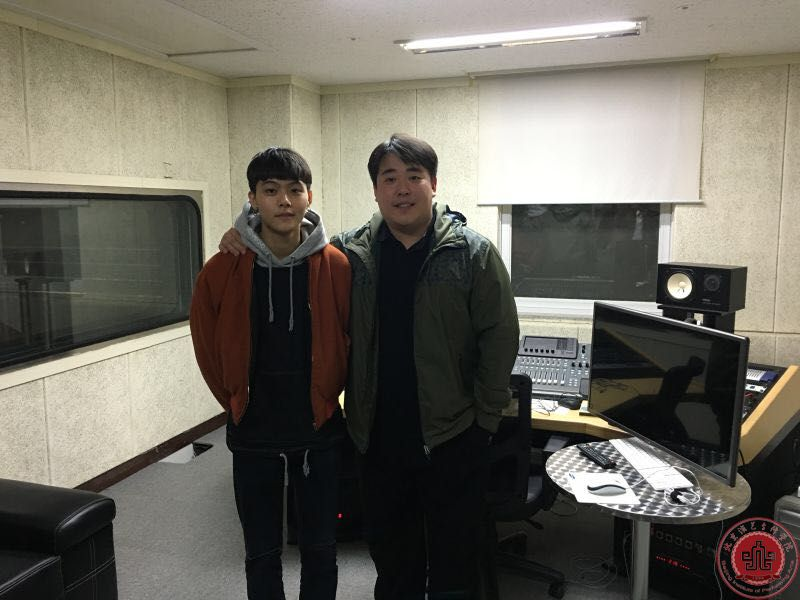 流行音乐学院学生王新宇赴韩国培训学习
