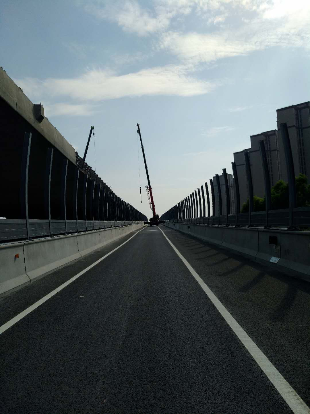 北三環東延快速通道交通工程施工