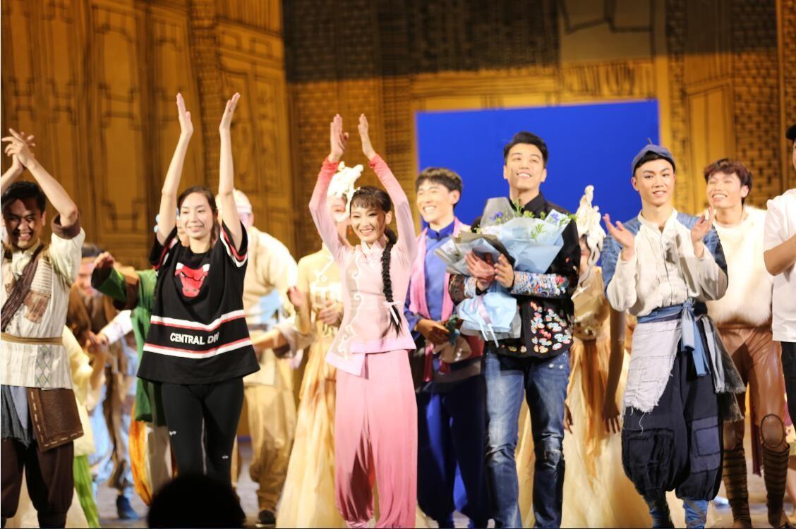我院大型原创舞剧《金蝉塑与糖人宝》首演大获成功