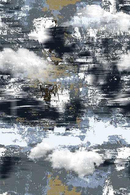 流行艺术灰白图饰