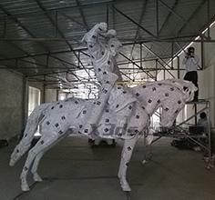 骑兵雕像三维扫描
