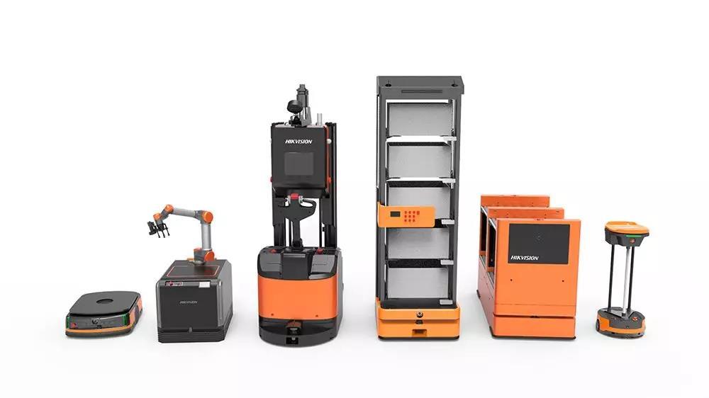 新年始于新鲜好物,海康机器人为联华华商物流提速