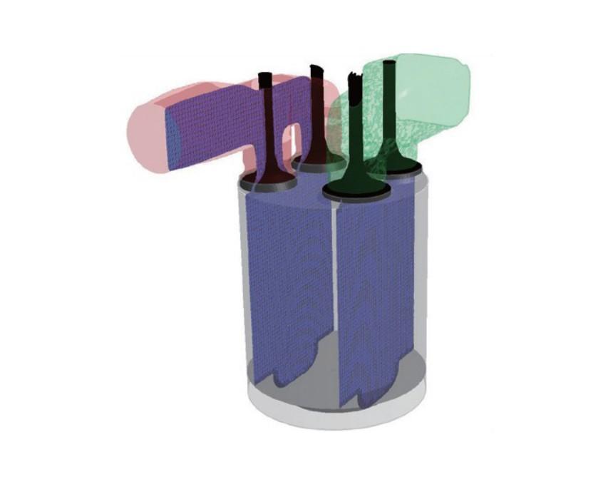 ANSYS FORTE真实燃料化学CFD加速清洁内燃机设计