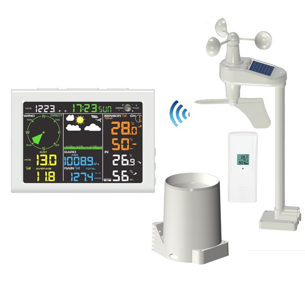 FT-0830-WIFI Professional Color Display Internet Weather Station