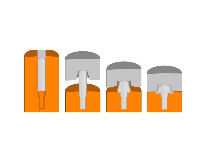 DEFORM 金属体积成形及热处理专业