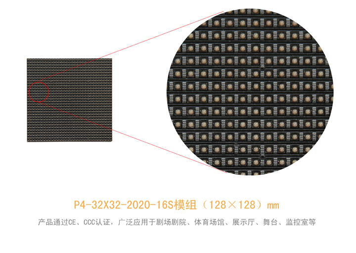 P4室内全彩LED租赁屏