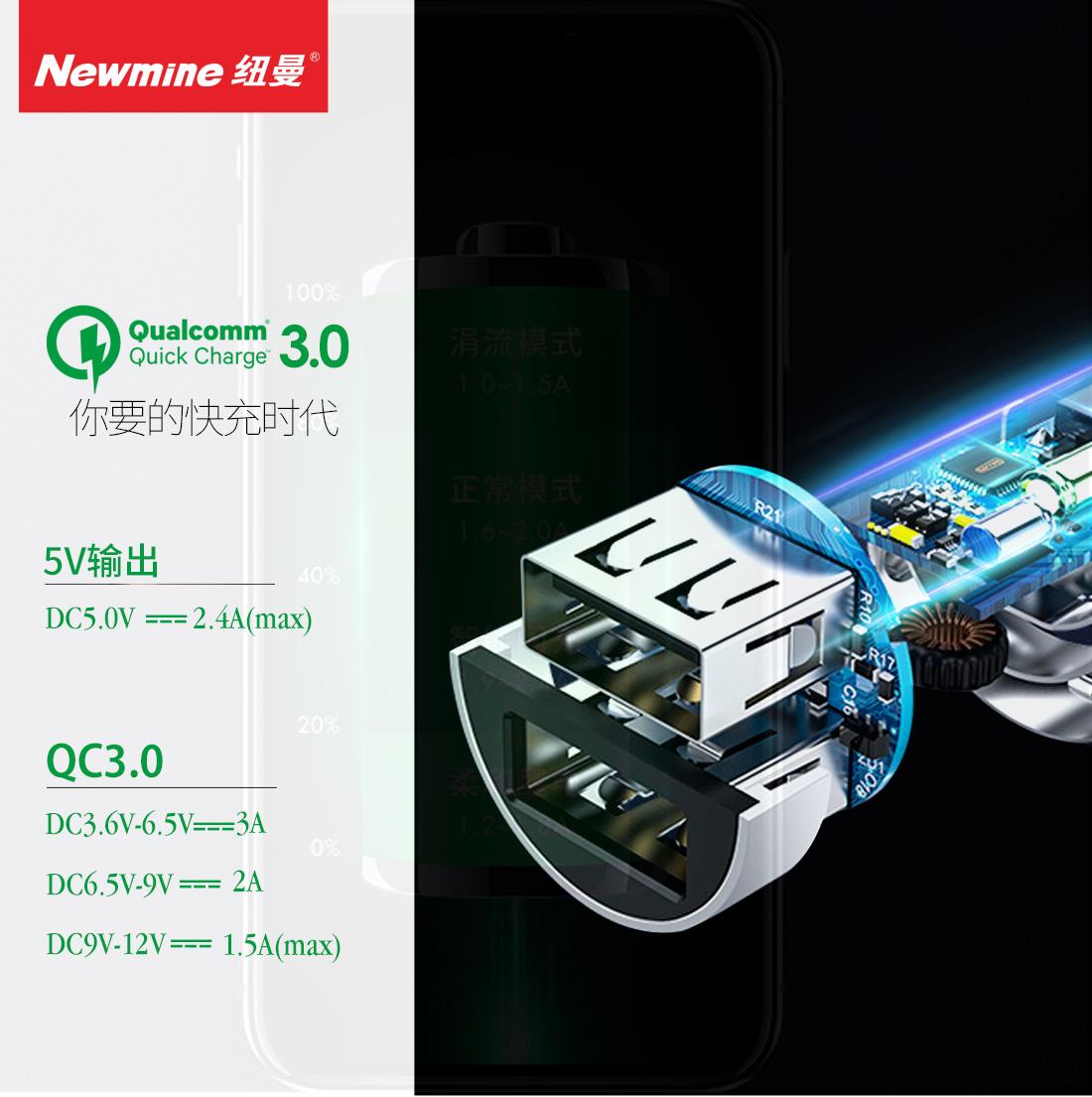 KC05 金属快充车载充电器