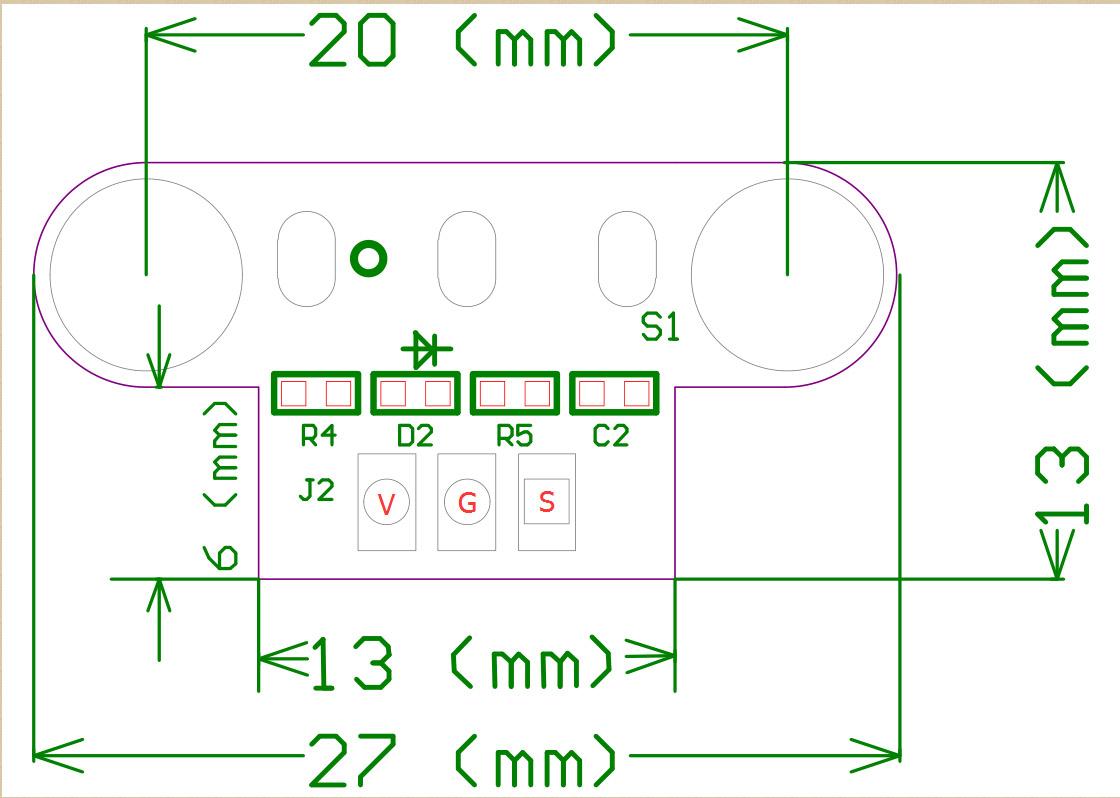 lerdge 3d printer parts mechanical endstop limit switch module endstop  switch horizontal type for reprap ramps1