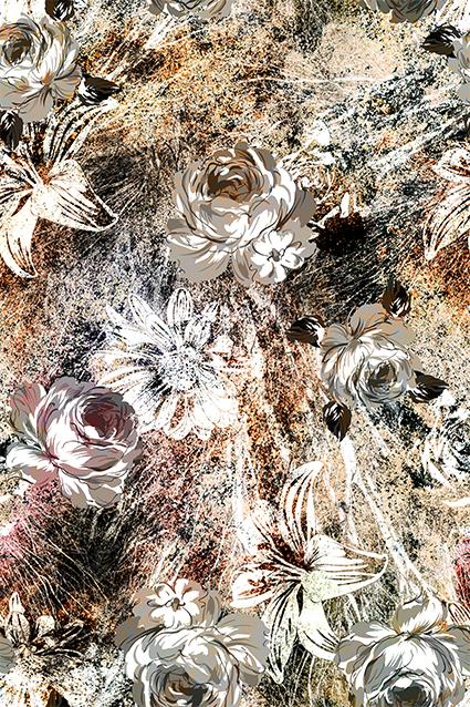 磨砂抽象装饰图绘