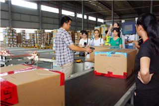 体验中学习,提升服务质量|海格物流客服中心广州仓库参观活动