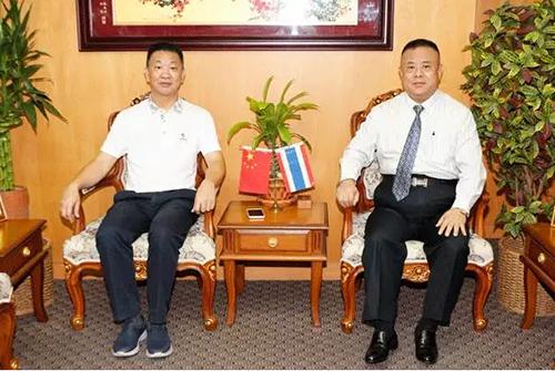 """践行""""一带一路""""战略,IBC与泰国共铸发展新格局!"""