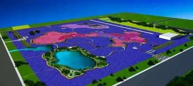 兰州新区将在中川机场用各种植物打造甘肃地图景观