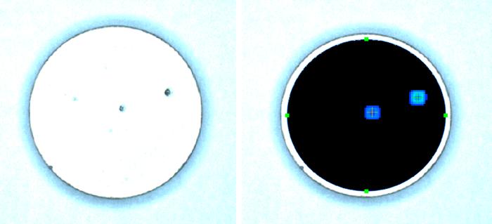 陶瓷PTC的外观检测