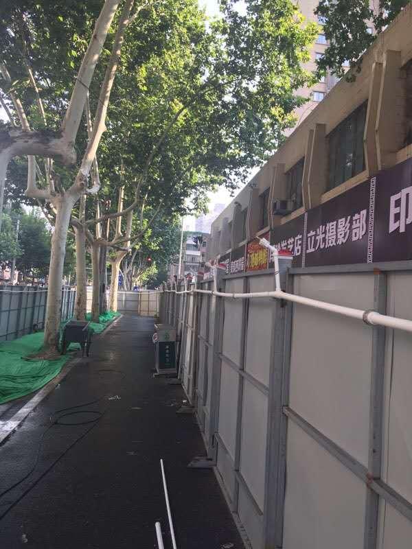 西安市小寨区域海绵城市ppp项目2标段道路围栏万博体育app登录项目
